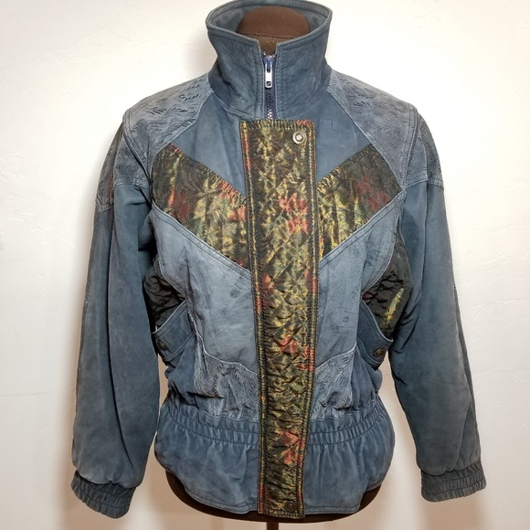 G-III Vintage Beautiful Unique Leather Jacket